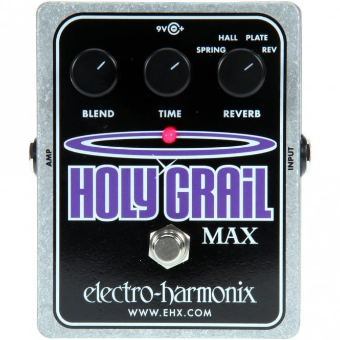 Electro Harmonix Holy Grail Max Spring, Hall & Plate Reverb Pedal