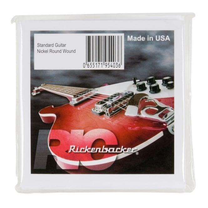 Rickenbacker Nickel Roundwound - 6 String (12-54)