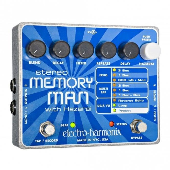 Electro Harmonix Stereo Memory Man w/ Hazarai Digital Delay & Looper