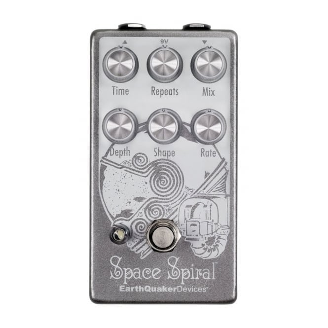 EarthQuaker Devices Space Spiral Digital Modulated Delay