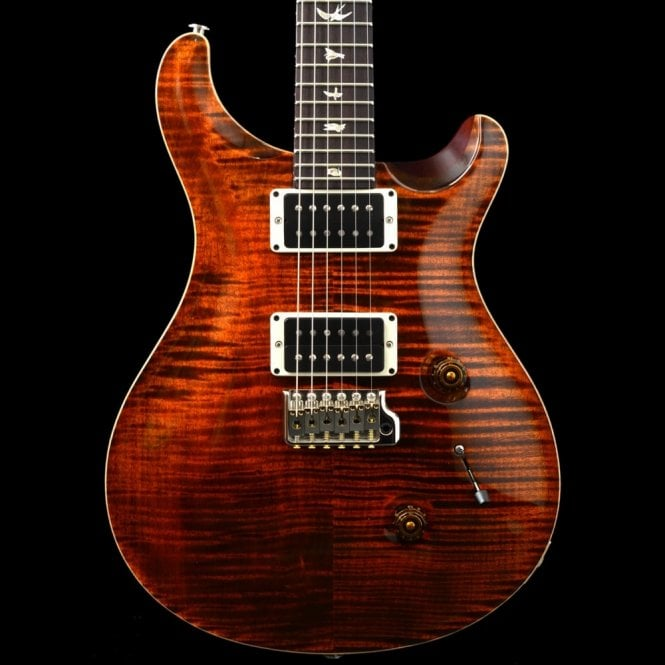 PRS Custom 24 2017 Model with Generation III Tremolo, Orange Tiger