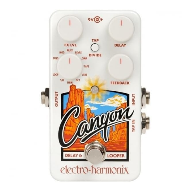 Electro Harmonix Canyon Delay & Looper Effects Pedal