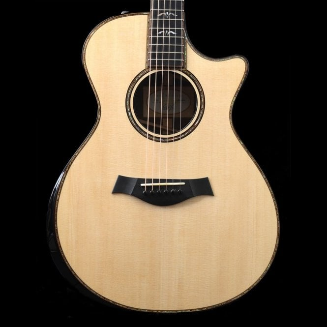 Taylor 912ce Grand Concert Electro Acoustic Guitar In Natural (New Spec)