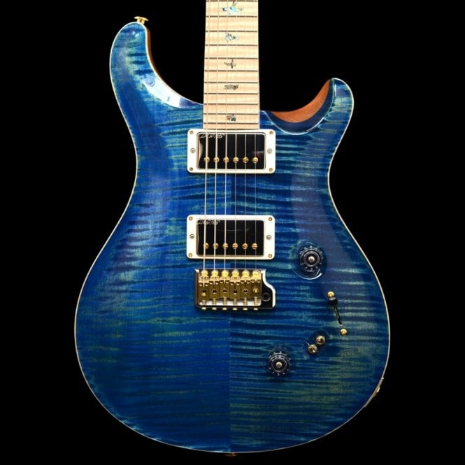 PRS Wood Library 10-Top Ltd. Edition Custom 24/08, River Blue, #237021