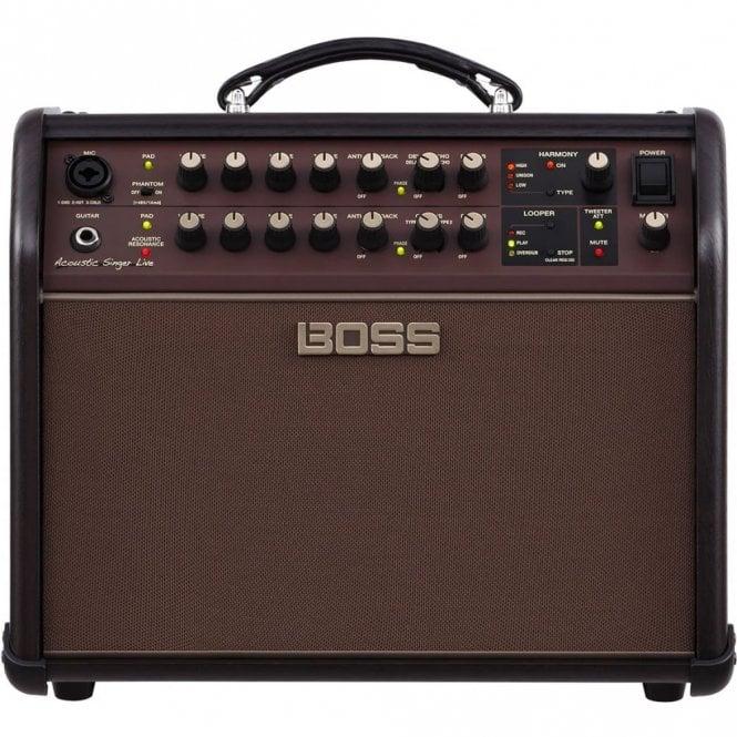 Boss Acoustic Singer LIVE 60 Watt Amplifier for Guitar w/ Built in Effects