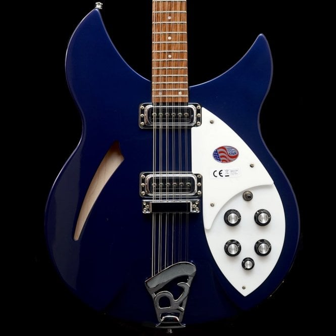 Rickenbacker 330/12 - 12-String Electric Guitar in Midnight Blue, 2017 Model