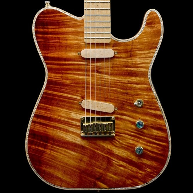 Nolan String Works Custom T Koa Electric Guitar w/ '63 Strat Pickup