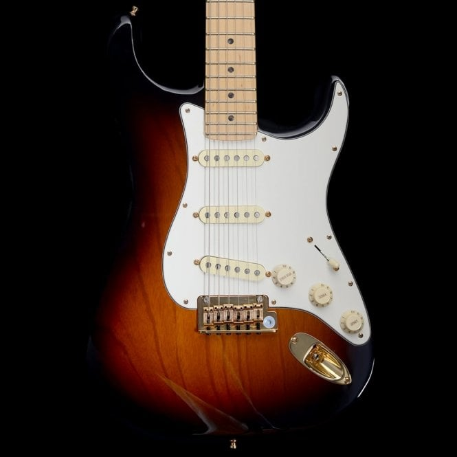 Fender 2014 60th Anniversary Stratocaster Electric Guitar, Two-Tone Sunburst