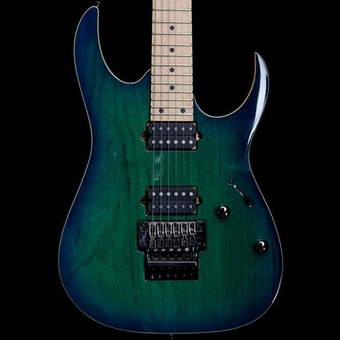 Ibanez RG652AHM-NGB Nebula Green Burst Prestige Electric Guitar