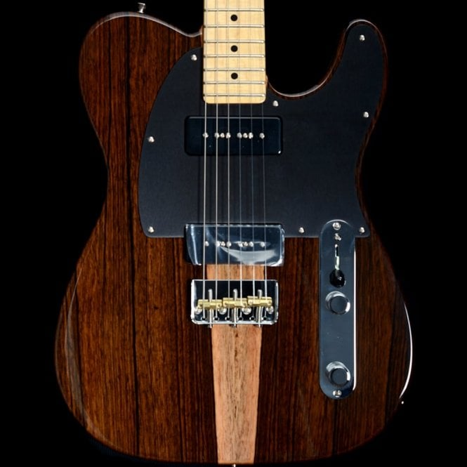 Fender 2017 Limited Edition Exotic Wood Telecaster Malaysian Blackwood
