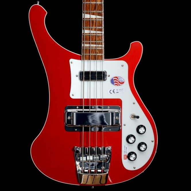 Rickenbacker 4003 Electric Bass Guitar, Ruby #17-1711749