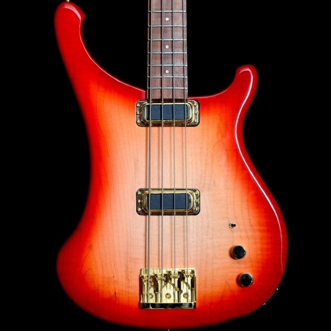 Rickenbacker 4004Cii Cheyenne II Bass Guitar, Fireglo, Discounted