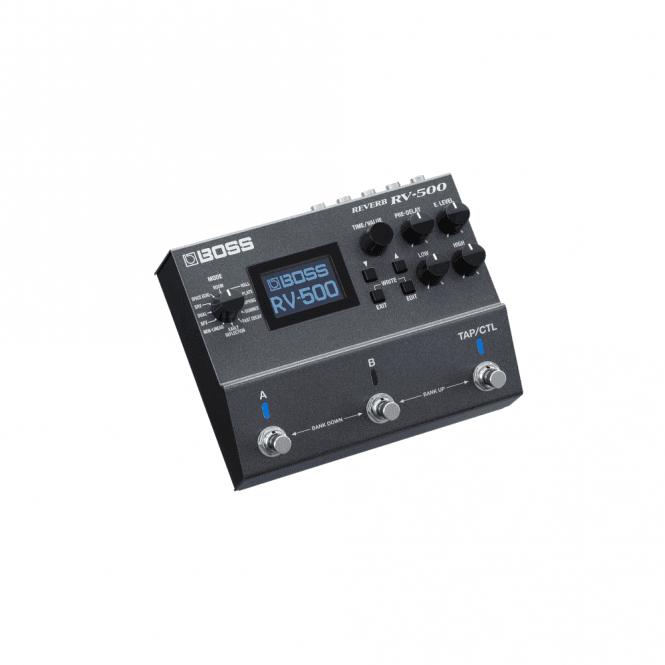 Boss RV-500 Digital Reverb Effects Pedal (Refurbished)