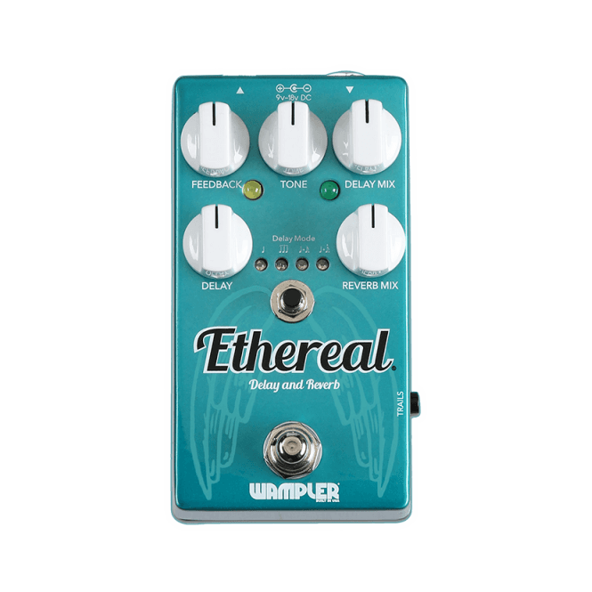 Wampler Ethereal Reverb & Delay Guitar Effects Pedal
