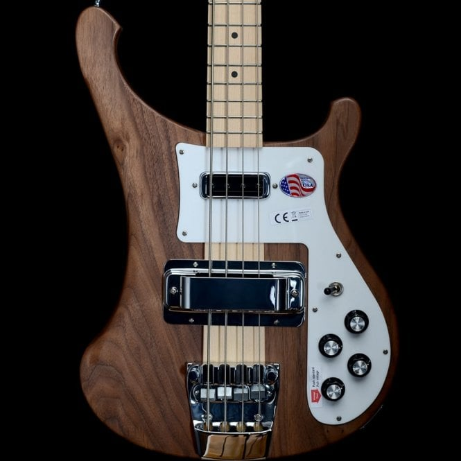 Rickenbacker 4003S Bass Guitar in Walnut with Maple Neck, #1713768
