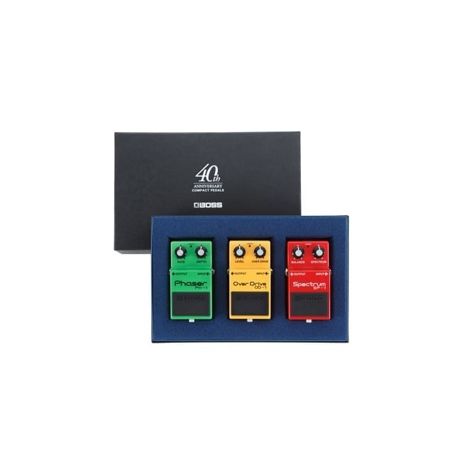 Boss Compact Pedal 40th Anniversary Box Set (OD-1, PH-1 & SP-1)