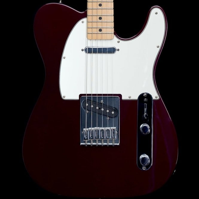 Fender 2011 Standard Telecaster Maple Neck in Midnight Wine, Pre-Owned