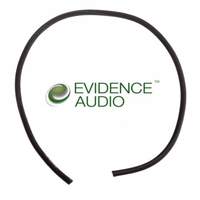 Evidence Audio Monorail Pedalboard/Patch Cable Per Foot (Black)