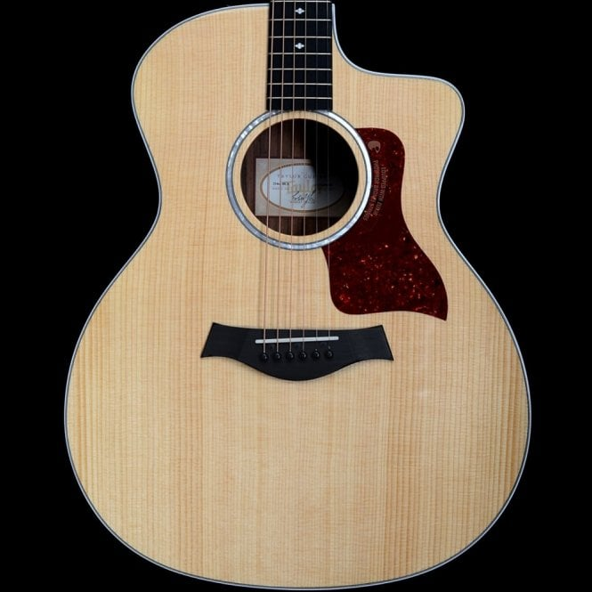 Taylor 214ce DLX Deluxe Grand Auditorium Electro Acoustic With Cutaway