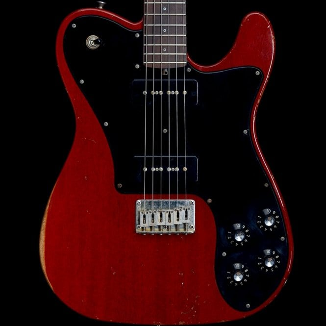 Friedman Amplification Vintage-T Relic P90 in Transparent Red, Ex Demo