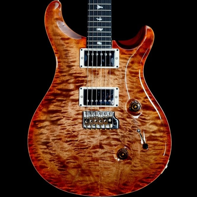 PRS Custom 24 Quilt Top with 85/15 Pickups | Ebony Fingerboard, Autumn Sky #242045