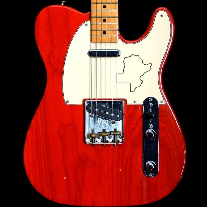Fender Custom Shop 1991 Texas Special Telecaster in Sunrise Orange, John Page era