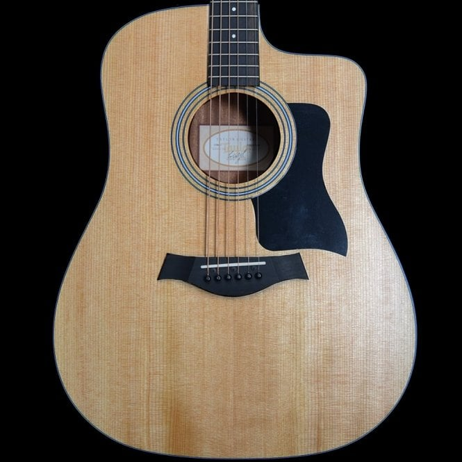 Taylor 110ce Dreadnought Acoustic Guitar Walnut Body Spruce Top
