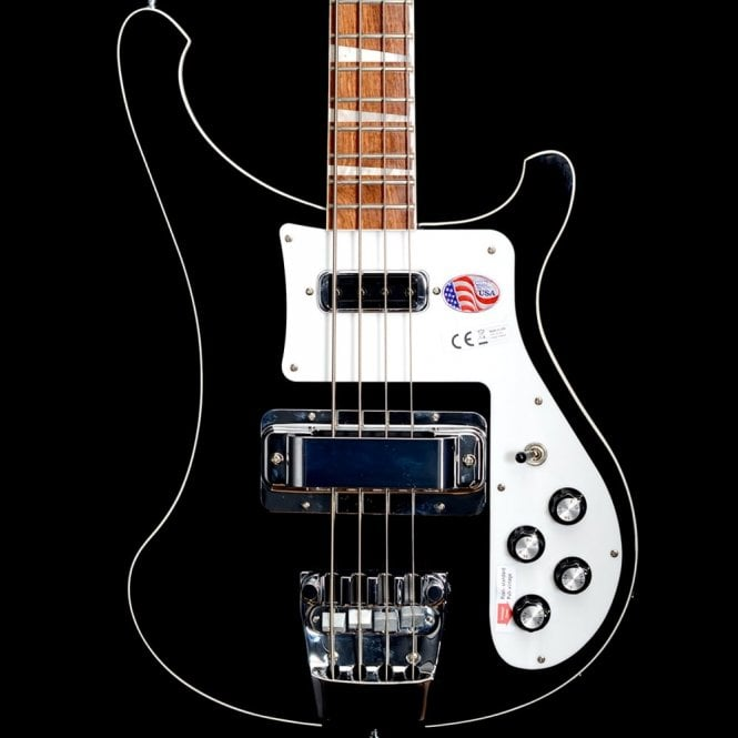 Rickenbacker 4003 Electric Bass Guitar, Jetglo - 2017 Model 1721732