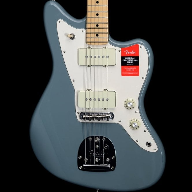 Fender American Professional Jazzmaster Electric Guitar MN, Sonic Grey
