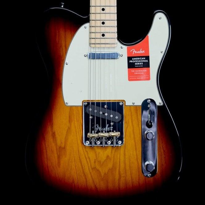 Fender American Professional Telecaster, 3 Tone Sunburst