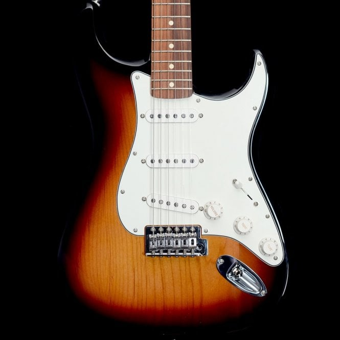 Fender Standard Stratocaster with Pau Ferro Fingerboard, Brown Sunburst