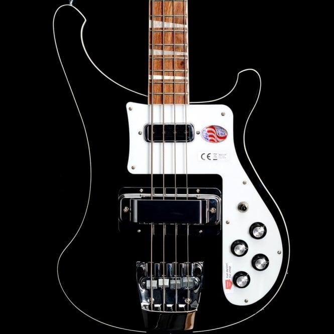 Rickenbacker 4003 Electric Bass Guitar, Jetglo - 2017 Model #17-1727737