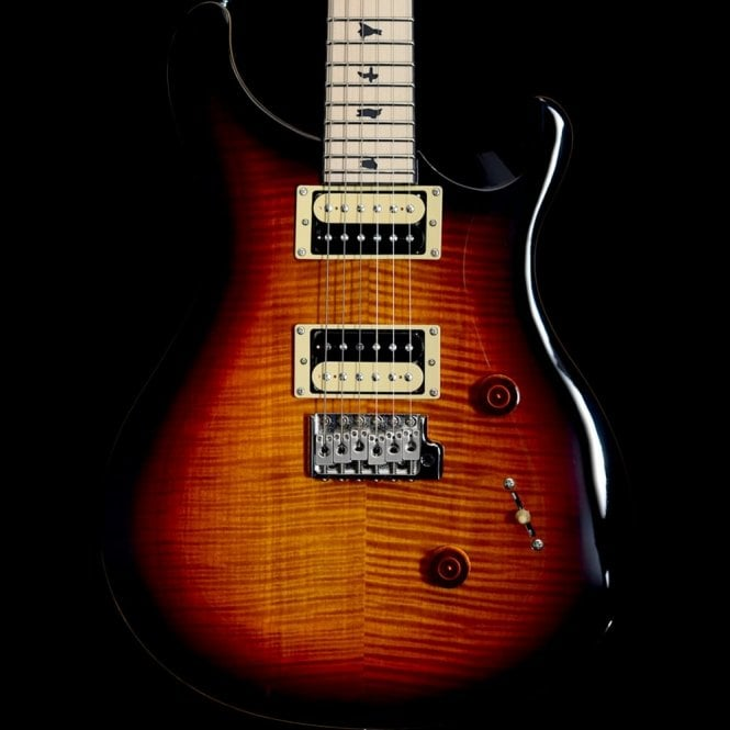PRS SE 2017 Limited Edition Custom 24 Tri-Colour Sunburst, Satin Maple Neck
