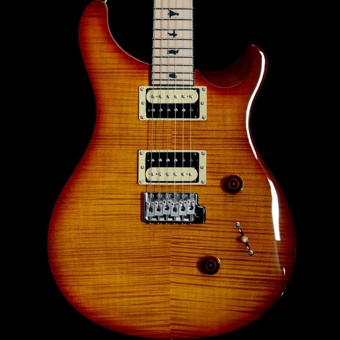 PRS SE 2017 Limited Edition Custom 24 Vintage Sunburst, Satin Maple Neck
