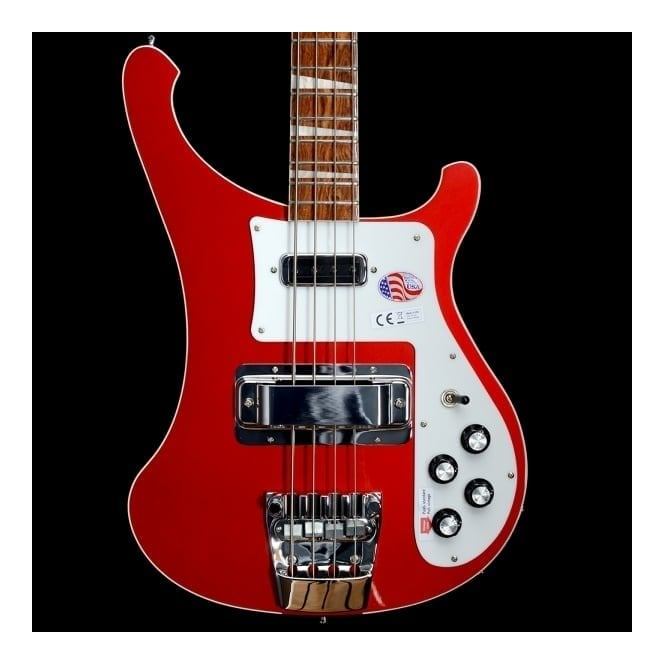 Rickenbacker 4003 Electric Bass Guitar, Ruby - 2017 Model #1728767