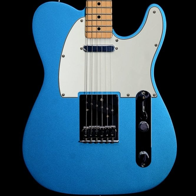 Fender Standard Telecaster Electric Guitar,Maple Neck, Lake Placid Blue Finish