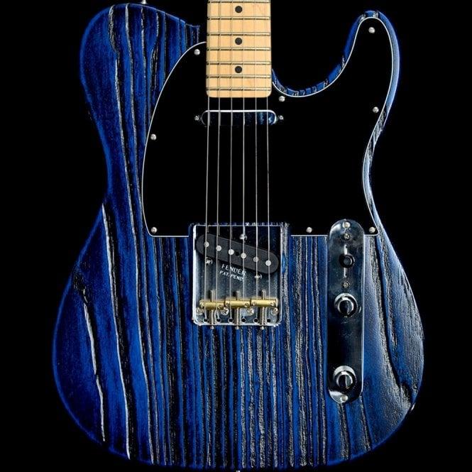 Fender Limited Edition Short-Run Sand Blasted Telecaster, Sapphire Blue