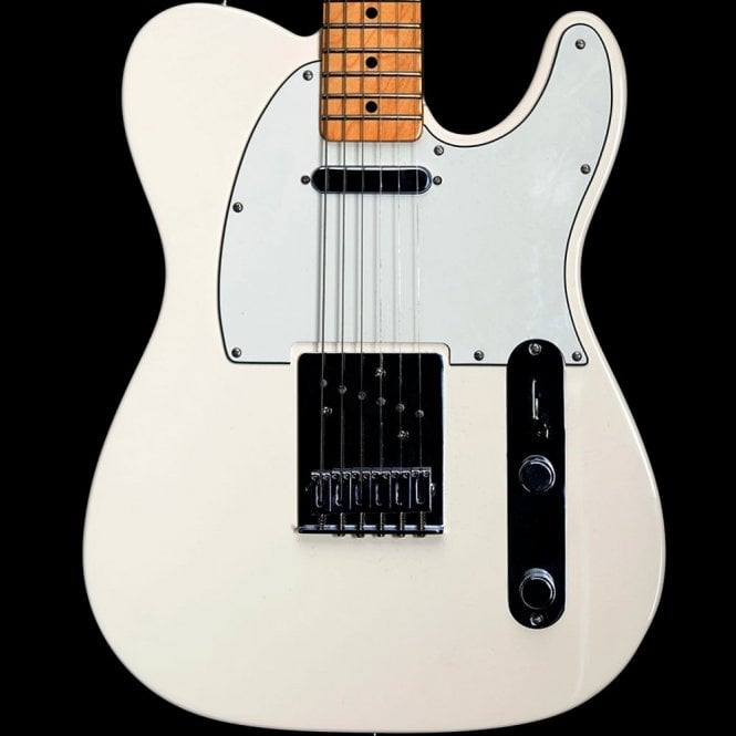 Fender Standard Telecaster Electric Guitar, Arctic White