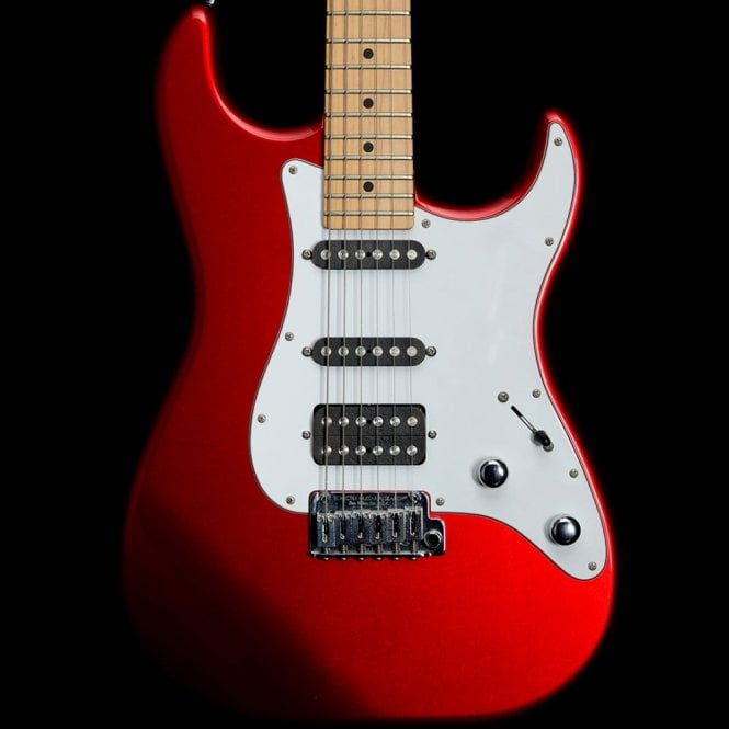 Schecter USA Custom Shop Traditional HSS Model, Candy Apple Red
