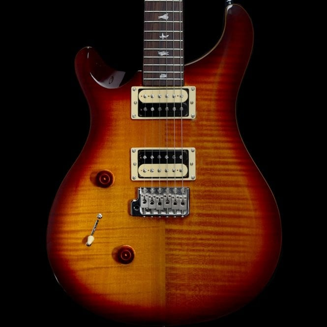 "PRS SE 2018 Custom 24 ""Lefty"" Left-Handed Electric Guitar, Tobacco Sunburst"
