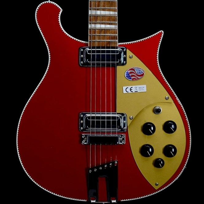 Rickenbacker 660 6-String Electric Guitar in Ruby, #1735729