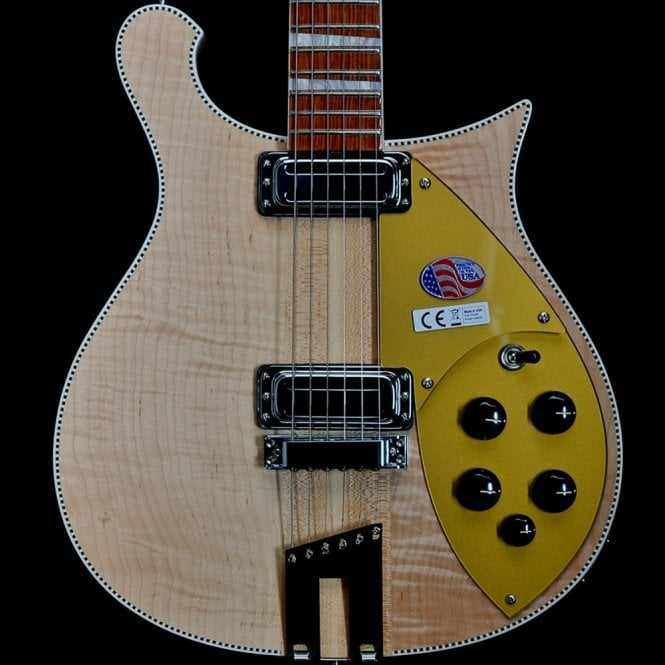 Rickenbacker 660 6-String Electric Guitar in Mapleglo, 2017 Model