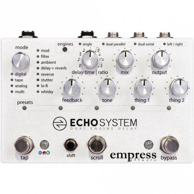 Empress Echo System Dual Engine Delay Pedal