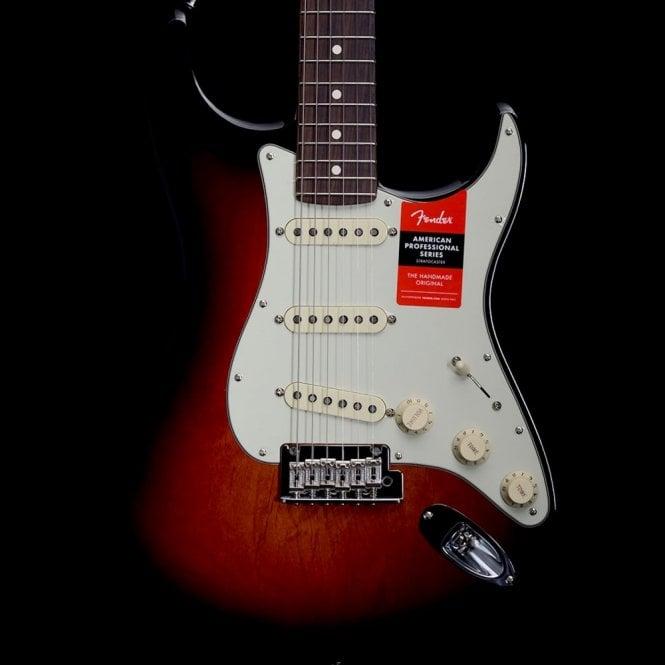 Fender American Professional Stratocaster, Rosewood Fingerboard, 3 Tone Sunburst