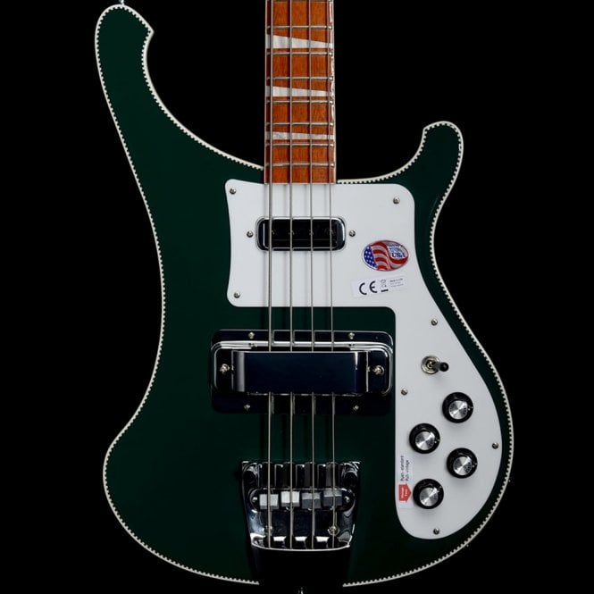 Rickenbacker 4003 Electric Bass Guitar, British Racing Green Limited Edition - Run of 25