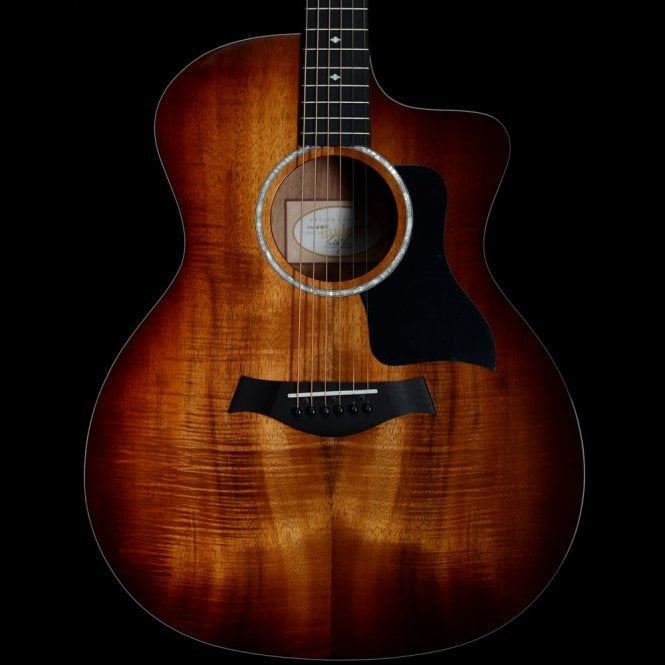 Taylor 224ce-K DLX All Koa Grand Auditorium Electro Acoustic ES-2