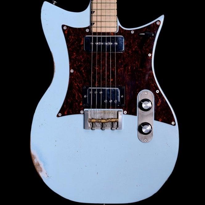Fidelity Guitars Double Standard, Swamp Ash in Sonic Blue