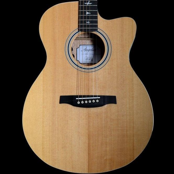 PRS SE 2018 Angelus Cutaway AX20e Acoustic Guitar, Mahogany Back and Sides