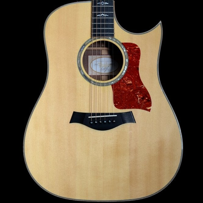 Taylor 2012 810ce Limited Edition Acoustic Guitar w/ Expression System & Florentine Cutaway, Pre Owned