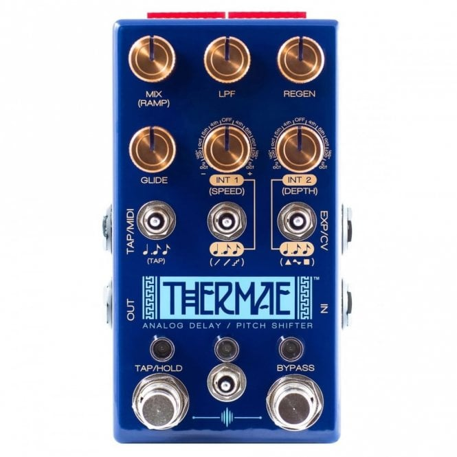 Chase Bliss Audio Thermae Analog Delay and Pitch Shifter Pedal